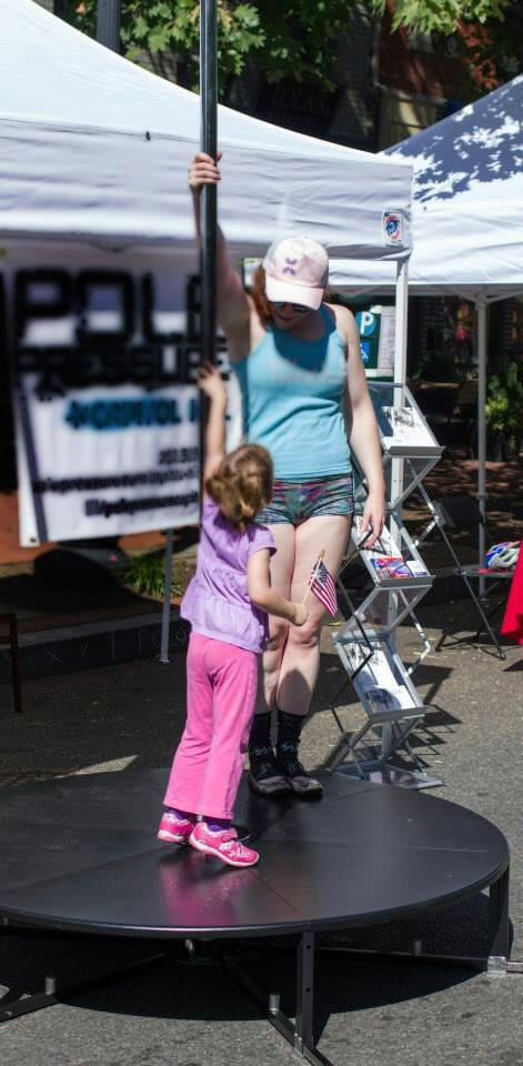 Kids And Poles: Why It's A Good Thing