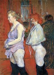 Medical Examination, Rue de Moulins by Henri Toulouse-Lautrec, 1894