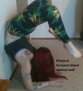 Photo 6 -- forearm stand
