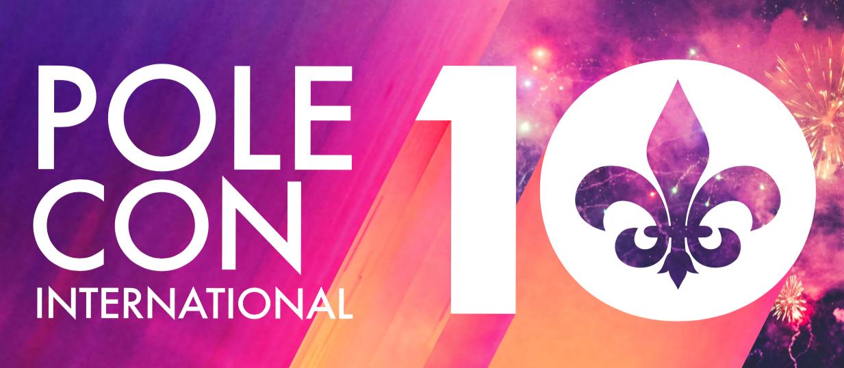 PoleCon 2020: Rescheduled To August 13-16, 2020