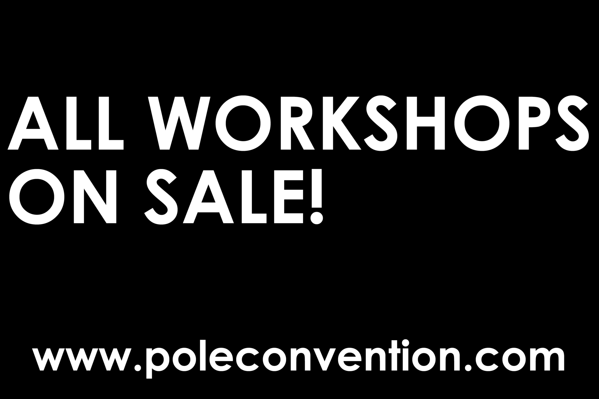 Workshops This Year At PoleCon 2021